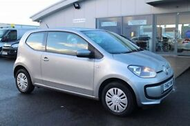 VOLKSWAGEN UP 1.0 MOVE UP 3d 59 BHP - 360 SPIN ON WEBSITE (silver) 2013