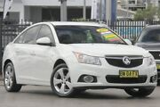 2013 Holden Cruze JH MY14 Equipe White 6 Speed Automatic Sedan Penrith Penrith Area Preview