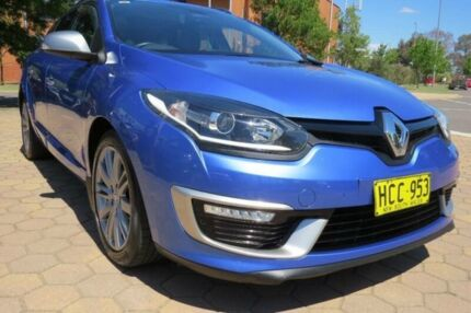 2015 Renault Megane K95 MY14 GT-Line Premium Blue 6 Speed Automatic Wagon Greenway Tuggeranong Preview