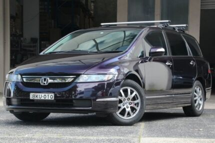 2006 Honda Odyssey 20 Luxury Purple 5 Speed Sequential Auto Wagon Brookvale Manly Area Preview