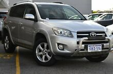 2010 Toyota RAV4 GSA33R MY09 SX6 Silver Pearl 5 Speed Automatic Wagon Claremont Nedlands Area Preview