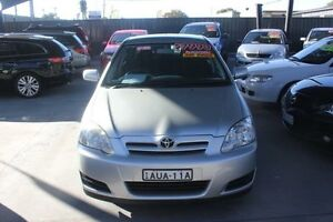 2005 Toyota Corolla ZZE122R Ascent Seca Silver 4 Speed Automatic Hatchback Mitchell Gungahlin Area Preview