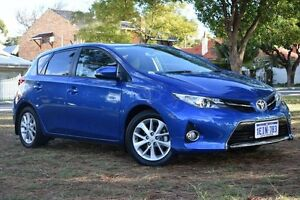 2013 Toyota Corolla ZRE182R Ascent Sport Tidal Blue 6 Speed Manual Hatchback Claremont Nedlands Area Preview