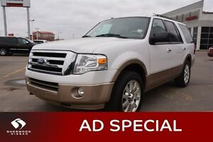 2011 Ford Expedition XLT HEATED LEATHER Leather,  Heated Seats,