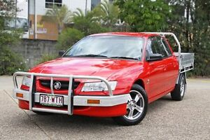 2005 Holden Crewman VZ Red 4 Speed Automatic Utility Underwood Logan Area Preview