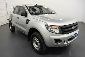 2012 Ford Ranger PX XL 2.2 HI-Rider (4x2) Highlight Silver 6 Speed Automatic Crew C/Chas Moorabbin Kingston Area Preview