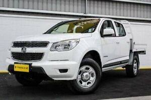 2014 Holden Colorado RG MY15 LS Crew Cab 4x2 White 6 Speed Sports Automatic Utility Canning Vale Canning Area Preview