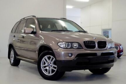 2005 BMW X5 E53 MY05 d Steptronic Beige 6 Speed Sports Automatic Wagon Myaree Melville Area Preview