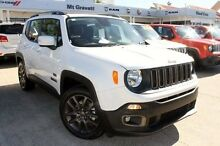 2016 Jeep Renegade BU MY16 75th Anniversary DDCT White 6 Speed Sports Automatic Dual Clutch Hatchbac Mount Gravatt Brisbane South East Preview