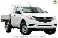 2015 Mazda BT-50 UP0YF1 XT Freestyle White 6 Speed Manual Cab Chassis Mount Gambier Grant Area Preview