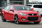 2017 Holden Commodore VF II MY17 SV6 Red 6 Speed Sports Automatic Sedan Balcatta Stirling Area Preview