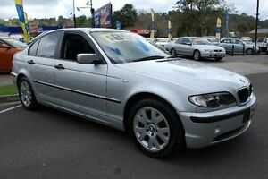 2003 BMW 318I E46 Executive Silver 5 Speed Auto Steptronic Sedan Upper Ferntree Gully Knox Area Preview