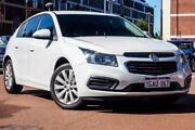 2016 Holden Cruze JH Series II MY16 Equipe White 6 Speed Sports Automatic Hatchback Fremantle Fremantle Area Preview