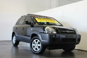 2004 Hyundai Tucson Elite Black 4 Speed Auto Selectronic Wagon Underwood Logan Area Preview