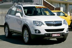 2015 Holden Captiva CG MY15 5 LT White 6 Speed Sports Automatic Wagon Cleveland Redland Area Preview