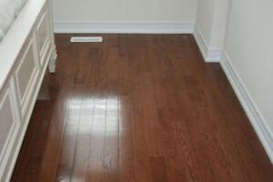 Hardwood installation$1/sqft