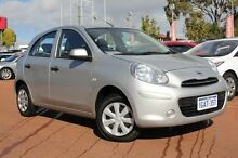 2013 Nissan Micra K13 MY13 ST 4 Speed Automatic Hatchback Willagee Melville Area Preview