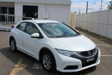2012 Honda Civic 9th Gen VTi-S White 5 Speed Sports Automatic Hatchback Gosford Gosford Area Preview
