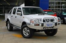 2010 Nissan Navara D22 MY2009 ST-R White 5 Speed Manual Utility Myaree Melville Area Preview