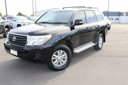 2014 Toyota Landcruiser VDJ200R MY13 GXL Black 6 Speed Sports Automatic Wagon Devonport Devonport Area Preview