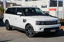2013 Land Rover Range Rover Sport L320 MY13.5 HSE Luxury CommandShift Black Fuji White 6 Speed Sport Nedlands Nedlands Area Preview