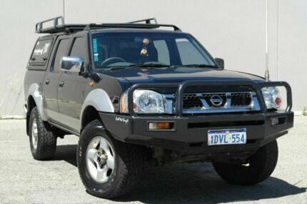 2003 Nissan Navara D22 ST-R Black 5 Speed Manual Dual Cab Beckenham Gosnells Area Preview