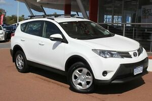 2013 Toyota RAV4 ZSA42R GX 2WD Glacier White 7 Speed Constant Variable Wagon Myaree Melville Area Preview