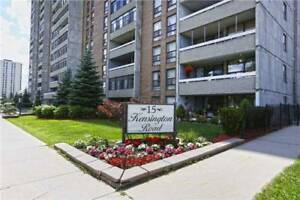 Very Well Maintaind EFacing 2Br 1Wr Unit Hwy401 15 Kensington Rd