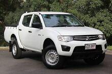2011 Mitsubishi Triton  White Automatic Utility Hawthorn Mitcham Area Preview
