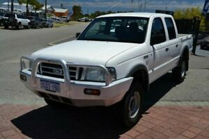 2005 Ford Courier PH GL White 5 Speed Automatic Crew Cab Pickup