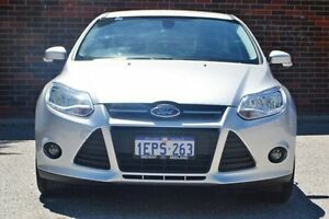 2014 Ford Focus LW MKII MY14 Trend PwrShift Silver 6 Speed Sports Automatic Dual Clutch Hatchback Midland Swan Area Preview