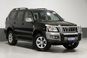 2007 Toyota Landcruiser Prado KDJ120R 07 Upgrade Grande (4x4) Black 5 Speed Automatic Wagon Bentley Canning Area Preview
