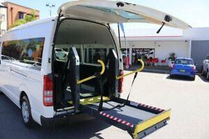 2012 Toyota HiAce TRH223R MY12 Upgrade Commuter French Vanilla 4 Speed Automatic Bus