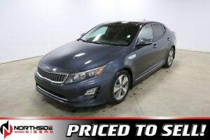 2014 Kia Optima Hybrid EX HYBRID Accident Free,  Sunroof,  Back-