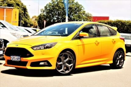 2017 Ford Focus LZ ST Orange 6 Speed Manual Hatchback Midland Swan Area Preview