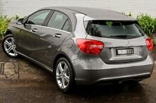 2015 Mercedes-Benz A180 176 MY15 BE Grey 7 Speed Sports Automatic Dual Clutch Hatchback Burwood Whitehorse Area Preview