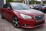 2015 Subaru Liberty B6 MY15 2.5i CVT AWD Red 6 Speed Constant Variable Sedan Pearce Woden Valley Preview