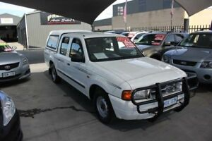 2000 Ford Courier PE GL White 4 Speed Automatic Crew Cab Pickup