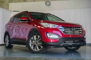 2015 Hyundai Santa Fe DM3 MY16 Highlander Red 6 Speed Sports Automatic Wagon Wangara Wanneroo Area Preview