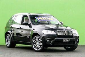2012 BMW X5 E70 MY12 xDrive40d Steptronic Sport Black 8 Speed Sports Automatic Wagon