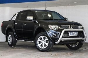 2013 Mitsubishi Triton MN MY13 GLX-R Double Cab Black 5 Speed Manual Utility Bellevue Swan Area Preview