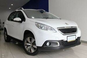 2015 Peugeot 2008 A94 Active White 4 Speed Sports Automatic Wagon Dandenong Greater Dandenong Preview