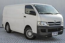 2008 Toyota Hiace KDH201R MY08 LWB White 5 Speed Manual Van Embleton Bayswater Area Preview