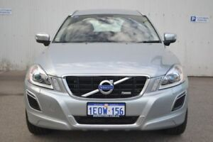 2014 Volvo XC60 DZ MY14 T6 Geartronic AWD R-Design Silver 6 Speed Sports Automatic Wagon