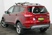 2016 Ford Kuga TF MY16.5 Titanium PwrShift AWD Red 6 Speed Sports Automatic Dual Clutch Wagon Seven Hills Blacktown Area Preview