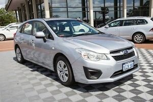 2013 Subaru Impreza G4 MY13 2.0i Lineartronic AWD Silver 6 Speed Constant Variable Hatchback Alfred Cove Melville Area Preview
