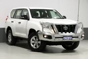 2016 Toyota Landcruiser Prado GDJ150R MY16 GX (4x4) White 6 Speed Automatic Wagon Bentley Canning Area Preview