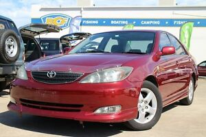 2002 Toyota Camry MCV36R Sportivo Red 4 Speed Automatic Sedan Greenslopes Brisbane South West Preview