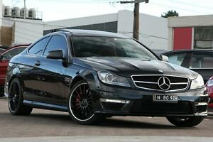 2011 Mercedes-Benz C63 W204 MY11 AMG Black 7 Speed Automatic G-Tronic Coupe Waitara Hornsby Area Preview