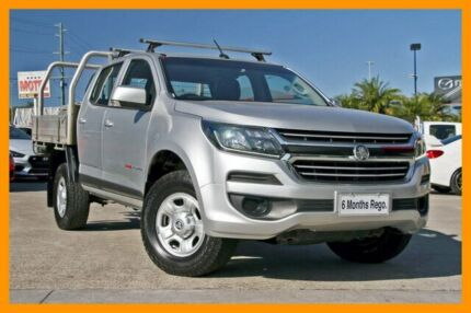 2016 Holden Colorado RG MY16 LS Crew Cab Silver 6 Speed Manual Cab Chassis Hillcrest Logan Area Preview
